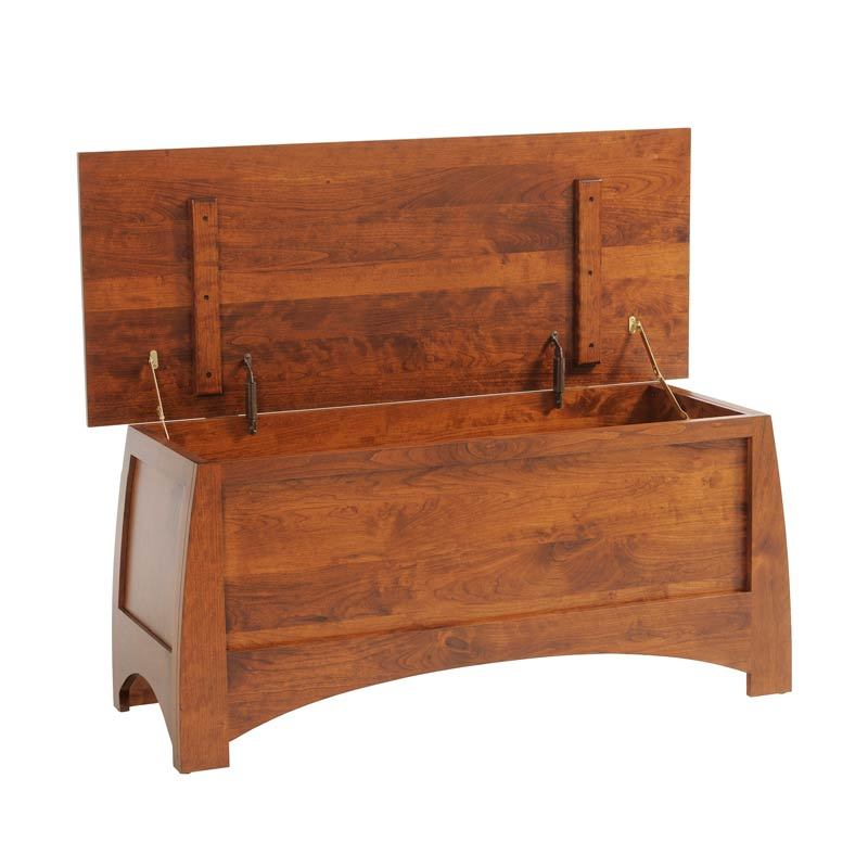 Bordeaux Blanket Chest